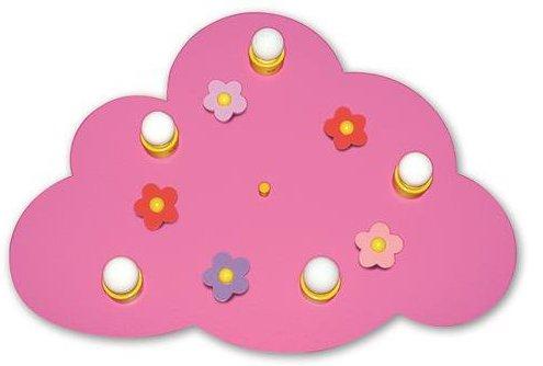 Pinke-Deckenleuchte-Wolke-Blume